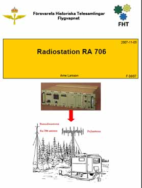 Radiostation RA 706